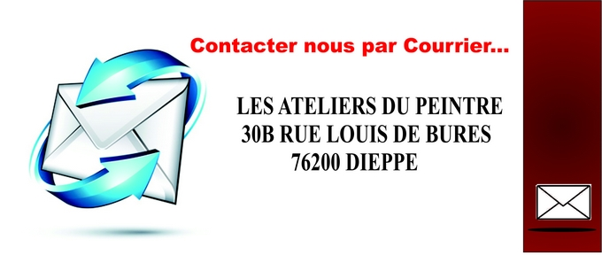 contact courrier chassis entoile et ancadrement tableau