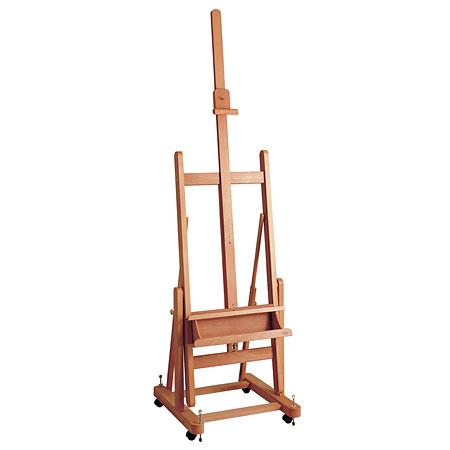 Chevalets d 39 39 39 39 ateliers en h tre huil de la marque mabef for Chevalet peinture