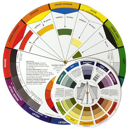 cercle chromatique colorart. Black Bedroom Furniture Sets. Home Design Ideas