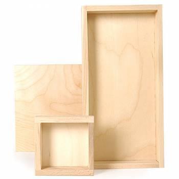 Ateliers du peintre fournitures beaux arts et cimaise for Peindre du bois brut