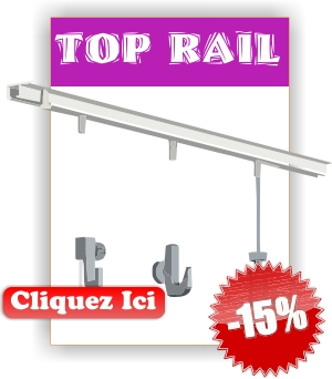 cimaise TOP RAIL