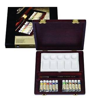 Coffret d'artiste REMBRANDT AQUARELLE TRADITION
